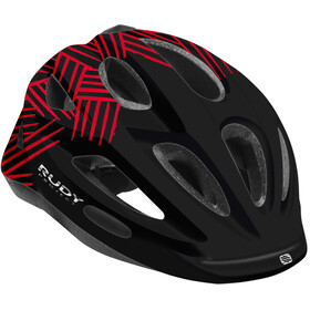 Rudy Project Rocky Helmet Kids black-red shiny